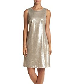 Tommy Hilfiger® Heathered Sequin Dress