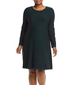 Jessica Howard® Plus Size Sweater Dress