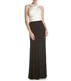 Vera Wang® Halter Long Gown
