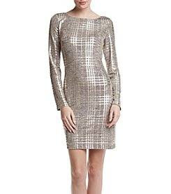 Jessica Howard® Metallic Shift Dress