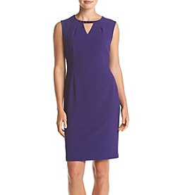 Nine West® Solid Sheath Dress