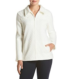 Alfred Dunner® Twilight Point Quilt Lace Jacket