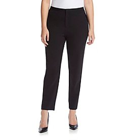 MICHAEL Michael Kors® Plus Size Velvet Side Stripe Pants
