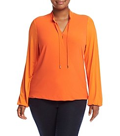 MICHAEL Michael Kors® Plus Size Crossover Front Top