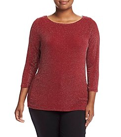 MICHAEL Michael Kors® Plus Size Boatneck Top