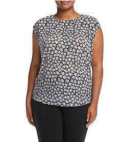 MICHAEL Michael Kors® Plus Size Floral Print Top