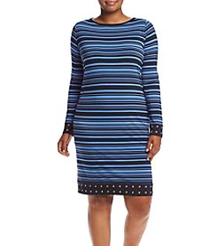 MICHAEL Michael Kors® Plus Size Adrennais Studded Dress