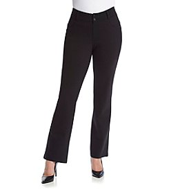 Democracy Plus Size Ponte Bootcut Pants