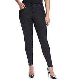 Democracy Plus Size Saturated Dark Straight Jeans