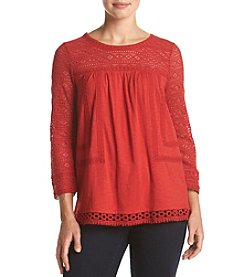 Nine West Vintage America Collection® Riannon Lace Top
