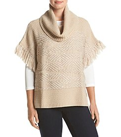 Lucky Brand® Textured Poncho