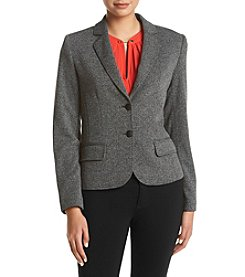 Jones New York® Herringbone Blazer