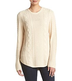 Jeanne Pierre® Textured Cable Sweater