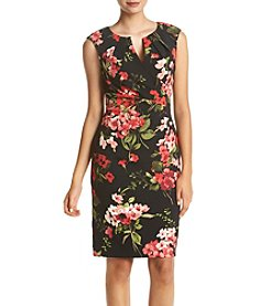 Adrianna Papell® Split Neck Dress