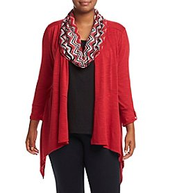 Studio Works® Plus Size Layered Look Top
