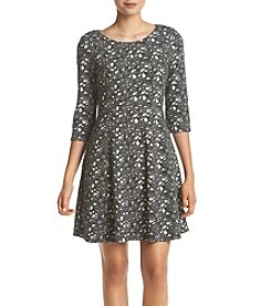 Taylor Dresses Jacquard Knit Dress