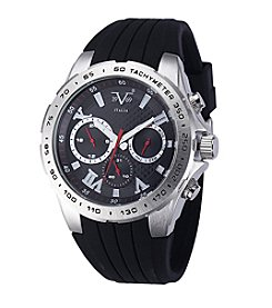 V19.69 Men's Abbigliamento Sportivo SRL Black Chronograph Watch