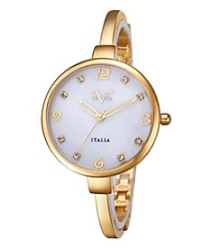 V1969 Women's Abbigliamento Sportivo SRL Goldtone Bangle Watch