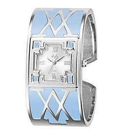 V19.69 Women's Abbigliamento Sportivo SRL Blue V Bangle Watch