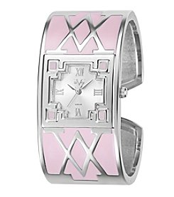 V19.69 Women's Abbigliamento Sportivo SRL Pink V Bangle Watch