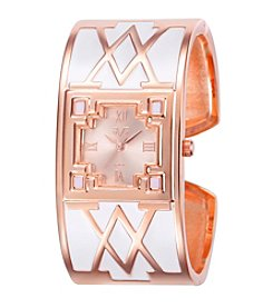 V19.69 Women's Abbigliamento Sportivo SRL White V Bangle Watch