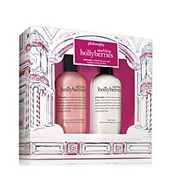 philosophy® Sparkling Hollyberries Duo Gift Set