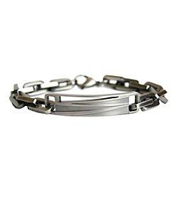 Steel Impressions Stainless Steel Designed ID Bracelet