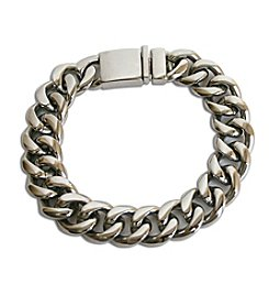 Steel Impressions Stainless Steel Curb Link Bracelet