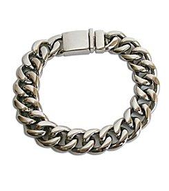 Steel Impressions Stainless Steel Curb Link Bracelet