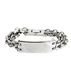 Steel Impressions Stainless Steel ID Bracelet