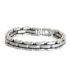 Steel Impressions Stainless Steel Link Bracelet