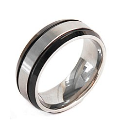 Steel Impressions Stainless Steel Black Trim Ring