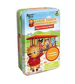 University Games Daniel Tiger's Neighborhood Bingo & Memory Match Tin