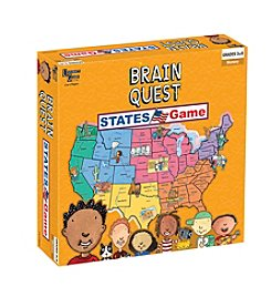 University Games Brain Quest States Game