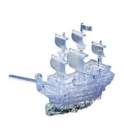 BePuzzled® 98-pc. Pirate Ship Deluxe 3D Crystal Puzzle