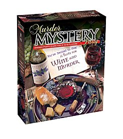 BePuzzled® Murder Mystery Party Game:  A Taste for Wine and Murder