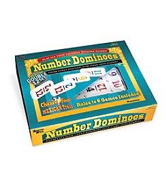 University Games Premium Double Set of 12 Number Dominoes