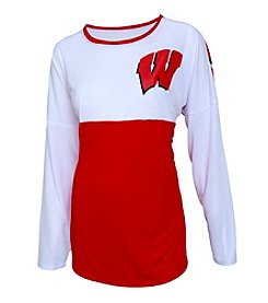 College Concepts NCAA® Wisconsin Badgers Women's Vortex Tee