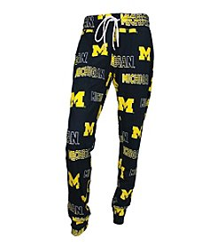 College Concepts NCAA® Michigan Wolverines Women's Sweep PJ Pants