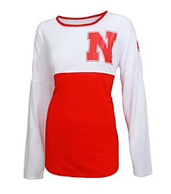 College Concepts NCAA® Nebraska Cornhuskers Women's Vortex Tee