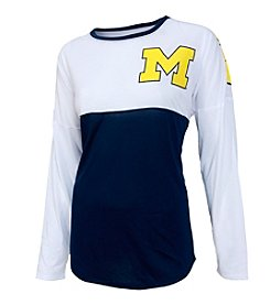 College Concepts NCAA® Michigan Wolverines Women's Vortex Tee