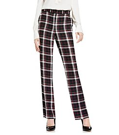 Vince Camuto® Harbour Plaid Flare Pants