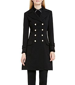 Vince Camuto® Military Double Breasted Coat