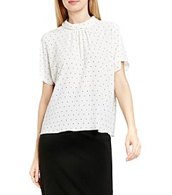 Vince Camuto® Dot Print Top