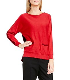 Vince Camuto® Color Block Pocket Sweater