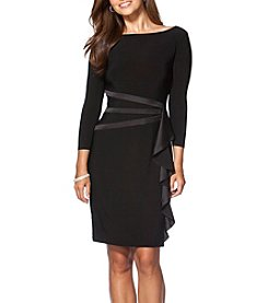 Chaps® Draped Sheath Dress
