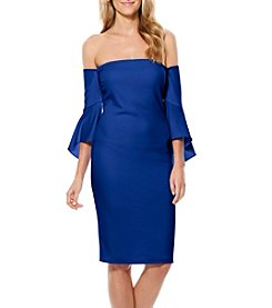 Laundry by Shelli Segal® Short Crepe Dress