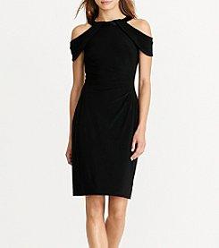 Lauren Ralph Lauren® Cold Shoulder Jersey Dress