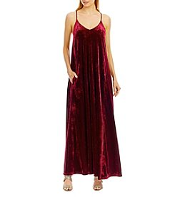Nicole Miller New York® Velvet Maxi Dress