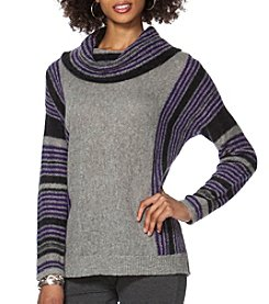 Chaps® Striped Wool-Blend Sweater